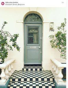Bespoke door with door furniture. #security #doors #locks http://www ...