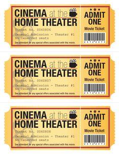 Movie Ticket Clip Art  Free SvgDigital Clip Art