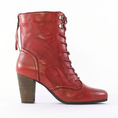 bottines cuir femmes petites pointures rouges aspect daim d 39 une hauteur de talon de 6 cm. Black Bedroom Furniture Sets. Home Design Ideas