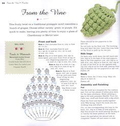 Watch The Video Splendid Crochet a Puff Flower Ideas. Wonderful Crochet a Puff Flower Ideas. Crochet Fruit, Crochet Leaves, Pineapple Crochet, Crochet Food, Crochet Dolls, Christmas Crochet Patterns, Crochet Flower Patterns, Doily Patterns, Crochet Designs