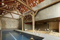 Auszeichnung | Kategorie Revitalisierung und Sanierung: Bauernhaus M1, cp architektur, Bauernhaus M1 Poolbereich Stadl, © Philipp Kreidl