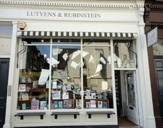 """Notting Hill bookshop.  Sells """"I hate purfume"""" Line with names like Mr. Hulot's Holiday ( smells like the beach), burning leaves and In the Library.  I would love to have some."""