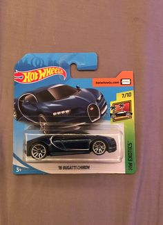 Hot Wheels Bugatti Chiron Short Card on Mercari Star Trek Models, Hot Wheels Display, Toy Cars For Kids, Toyota Mr2, Bugatti Chiron, Hot Wheels Cars, Chevrolet Silverado, Classic Toys, Big Trucks