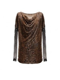 Leopard Long Sleeved T-shirt