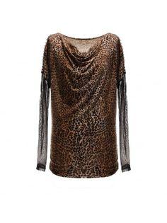 Leopard Long Sleeved T-shirt