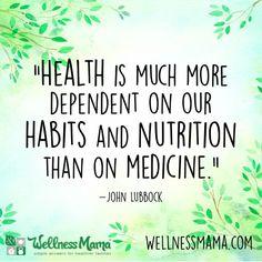 Our habits matter. #quotes #motivation #healthquotes #quotesaboutnutrition