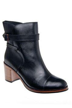Wolverine 1000 Mile by Samantha Pleet - Bonny Low Heel Boot - Black at DNA Footwear