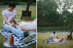 Hanke Arkenbout Photography | couple picnic outdoor parc love photography shoot