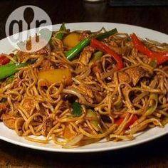 Photo de recette : Chow Mein au poulet