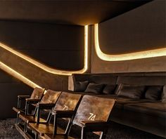 Home Cinema for 8SEC. by Barefoot Design, photo: © Michael Tewes