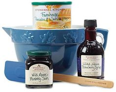 Stonewall Kitchen Blueberry Batter Bowl Gift Set