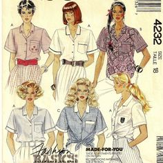 A Classic Collared Shirt Pattern for Women