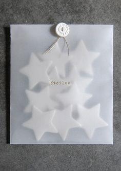 Étoiles magnétiques #packaging  #envelop