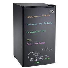 IGLOO 3 cu. ft. Eraser Board Mini Refrigerator in Black-FR326M-BLACK - The Home Depot