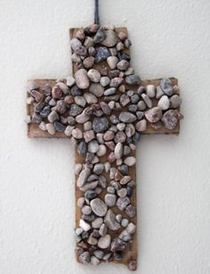 kingdom rock crafts | Rock Cross Craft | Sowing Seeds of the Kingdom