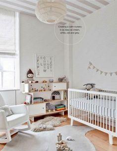 Creating a calm nursery is as easy as..