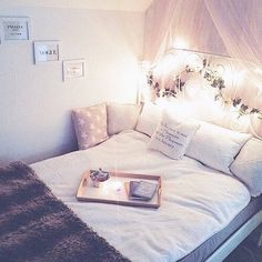 Imagem de bedroom, room, and bed
