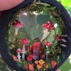 """Morning in the amanita Forest"" New fall themed portals are being created these…"