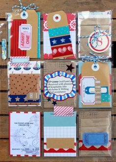 The Art Of Scrapbooking... Is the Art of Living!: Pocket Pal Letters