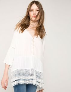 Shirts & blouses - Bershka - Woman - Bershka United Kingdom