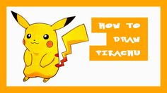 Amazingly Detailed and Easy Pikachu Drawing Tutorial (Music and sound effects from the original Pokemon Yellow Version game)