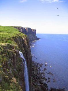Kilt Rock, Isle Of Skye, Scotland.