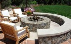 Outside Fire Pit Ideas outdoor fire pit design ideas   landscaping network