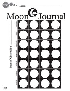 12 Best Space Science, Moon/ Lunar Phases- Middle School