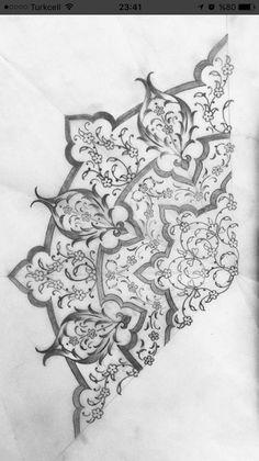 Islamic Art Pattern, Arabic Pattern, Pattern Art, Mosaic Tattoo, Tattoos Mandalas, Arabic Calligraphy Design, Damask Stencil, Turkish Art, Mandala Drawing