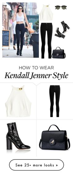 """""""outfit 5559"""" by natalyag on Polyvore featuring J Brand, Valentino and Ray-Ban"""