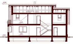 Contemporary Two Storey Home Idea 15 Country House Plans, Small House Plans, Classic House Design, Storey Homes, Bonus Rooms, Malaga, Contemporary, Modern, Beautiful Homes