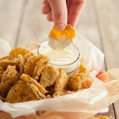 "Easy Recipes to Do: ""FRIED"" PICKLES"
