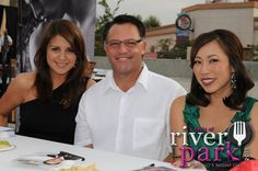 The Live at 4 team stepping out at Taste of River Park