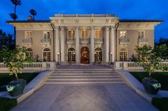 """With a presidential guest list including Eisenhower, Kennedy, Johnson, and Nixon, some called this Hancock Park estate """"The White House of the West."""" The rest of us know this Los Angeles Landmark as Los Tiempos or the Dorothy Chandler Estate; famous for its residents, architecture, events, guests, and location."""