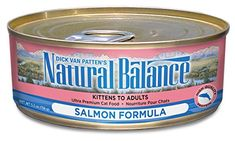 Natural Balance Canned Cat Food Salmon Recipe 24 x 6 Ounce Pack -- BEST VALUE BUY on Amazon #FoodforCats