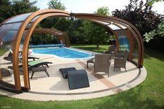 Des abris de piscine tendances pour réchauffer vos baignades