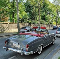 Mercedes Benz Convertible, Bmw 2002, Classic Mercedes, Cabriolet, Station Wagon, Dream Garage, Rolls Royce, Hot Cars, Cars