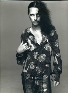 Alice Cooper by Richard Avedon