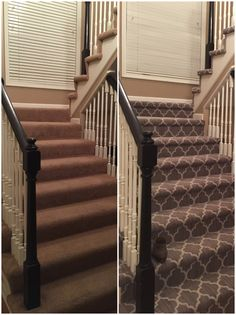 What A Difference In This Before And After Pic From Tuftex! Their Patterned  Carpet Lines