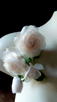 Silk Millinery Flowers in Pink Blush for Floral Supply, Fascinators, Hats, Corsages