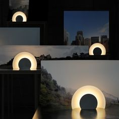 Sunset table lights by Alban Le Henry for Great Design