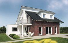 Weberhaus: Pultdach versetzt; Wohnen mit genug Platz für die ganze Familie