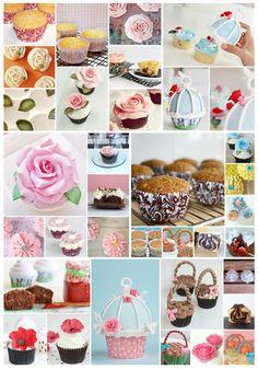 Collage cupcakes de Cupcakesadiario