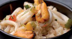 Recette de risotto arcachonnais