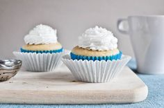 recipe for two cupcakes