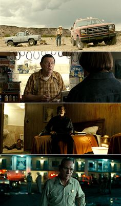No Country for Old Men, 2007 (dir. Joel & Ethan Coen) By cinemetrics