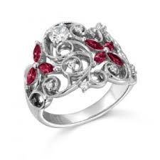Image result for ruby rings