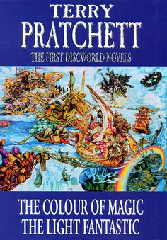 the colour of magic light fantastic 25th anniversary edition illustrations by stephen player playergallerycom discworld pinterest lights fantastic - The Color Of Magic Book