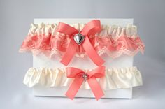 Wedding/Accessories/Coral and ivory by lechoixdelamariee on Etsy