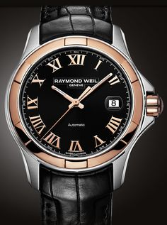Raymond Weil Parsifal Steel & Rose Gold